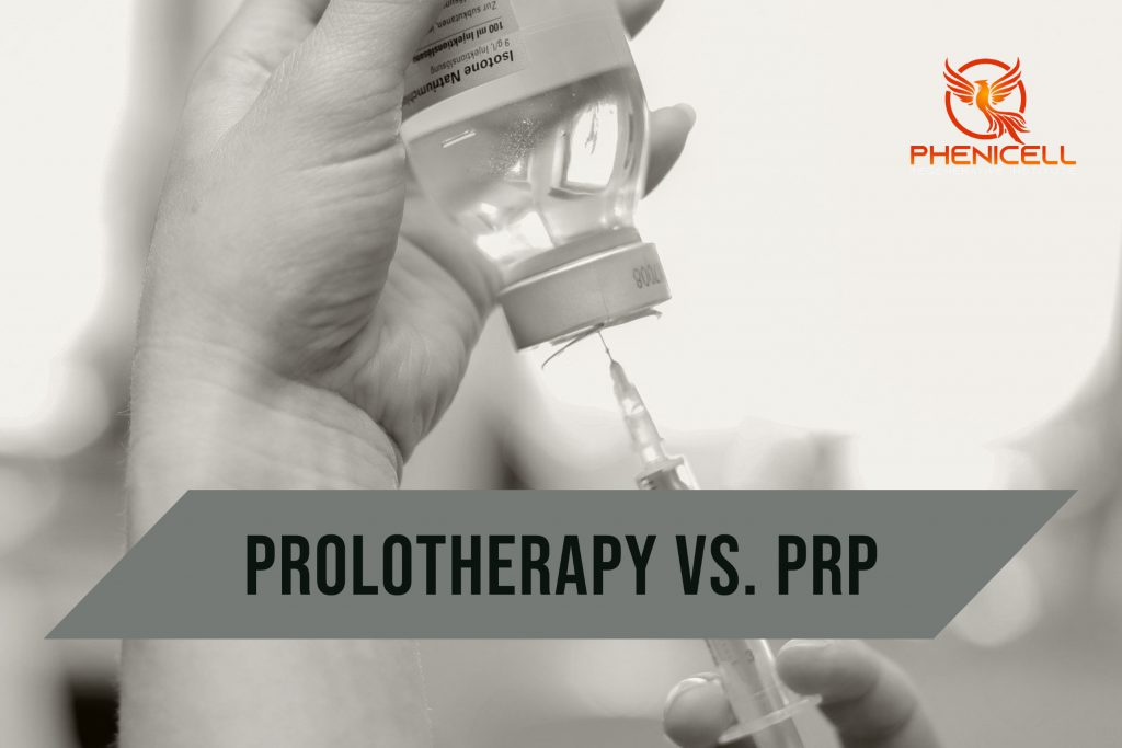 What are the differences between Prolotherapy and PRP? Explained by Neurosurgeon Joseph Shehadi from the Neurosurgery Associates Team and Phenicell Regenerative Institute.