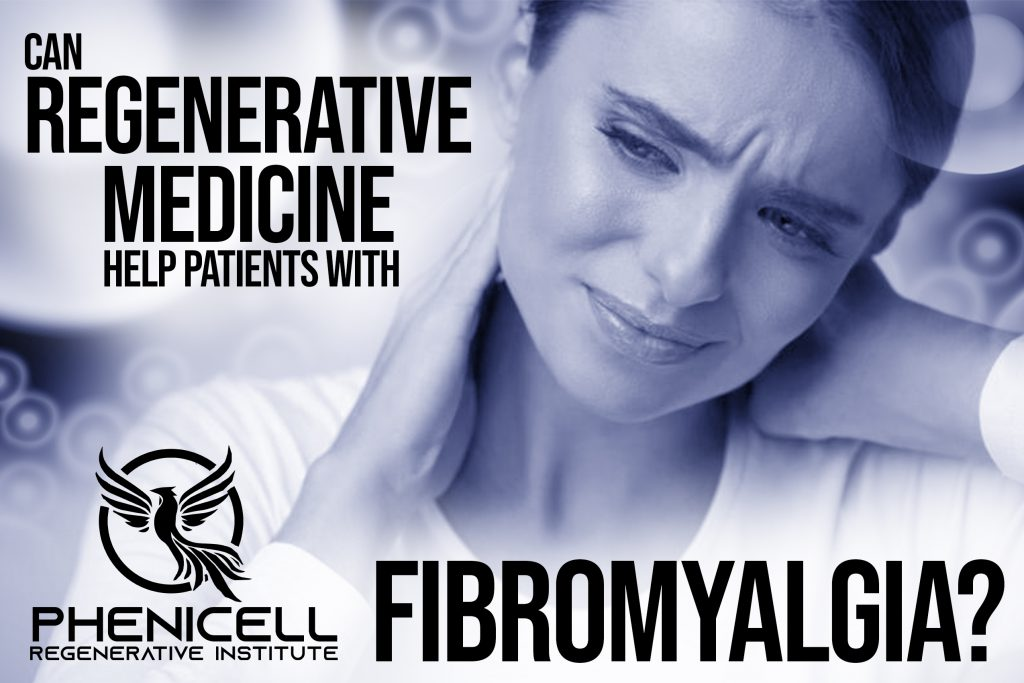 This is an image of a person suffering from Fibromyalgia. Regenerative Medicine can help in her case